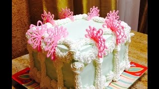 Elegant Dessert Cake Design- Cake Decorating