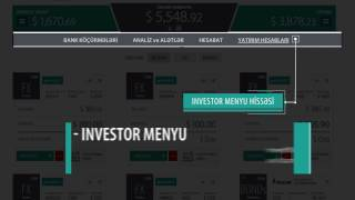 InvestOR İstifadə Təlimatı