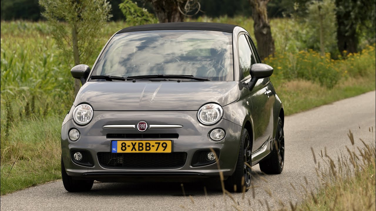 fiat 500 cabriolet twinair turbo sport youtube. Black Bedroom Furniture Sets. Home Design Ideas