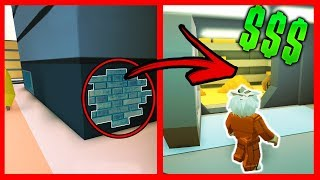 NEW TIP TO ROB THE BANK WITHOUT CARD IN JAILBREAK - Roblox