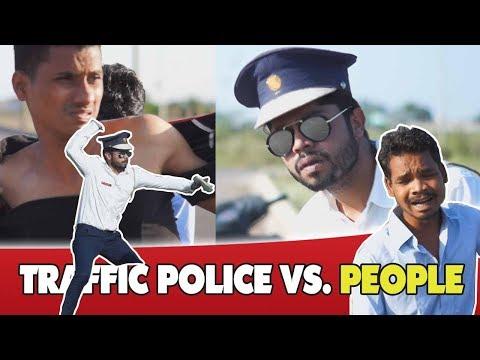 Traffic Police Vs. Indian People || Dj Naddy