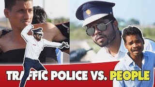 INDIANS VS TRAFFIC POLICE || Dj Naddy