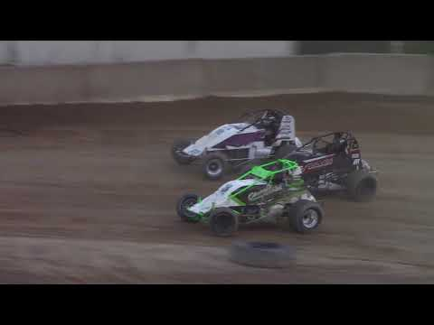 Old Bradford Speedway RUSH Wingless Sprint Car Feature 8-5-18