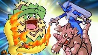 TRUE LUDICOLO- Pokemon Emerald 3rd Gen VBA-LinkWifi Double Battle: AceStarThe3rd vs YoMomma