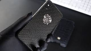 Jumo Carbon Glass замена заднего стекла iPhone X
