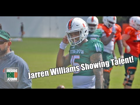 VIDEO: QB Jarren Williams full highlights in practice 4