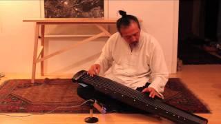 """Guqin 古琴 楚歌 Mr Yuan, Jung-ping performs """"Chu Ge, Song of Chu"""" 袁中平古琴演奏""""楚歌"""""""