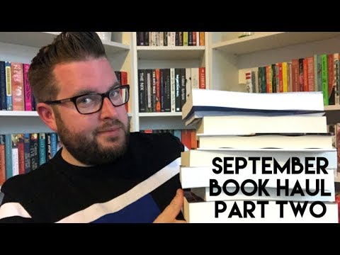 September Book Haul | Part 2 | 2017