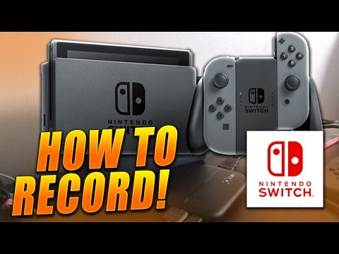 🔴 HOW TO RECORD NINTENDO SWITCH GAMEPLAY! EASY Recording Nintendo Switch Tutorial - (Tutorial/Guide)