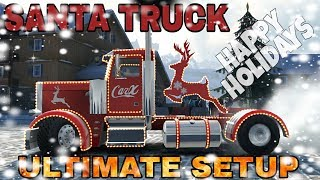 Santa Truck (Thor 8800) Ultimate Setup + Test Drive! Happy New Year! Happy Holidays! 2018