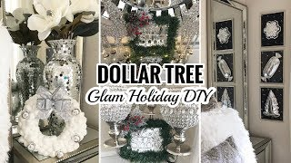 DIY Dollar Tree Christmas Decor | Dollar Tree DIY Glam Decor