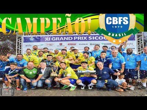 Gols Brasil 4 x 2 República Tcheca - FINAL Grand Prix de Futsal 2018 (04/02/2018)