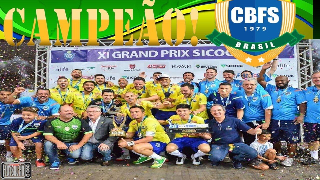 Gols Brasil 4 x 2 República Tcheca - FINAL Grand Prix de Futsal 2018  (04 02 2018) 37589bda24829