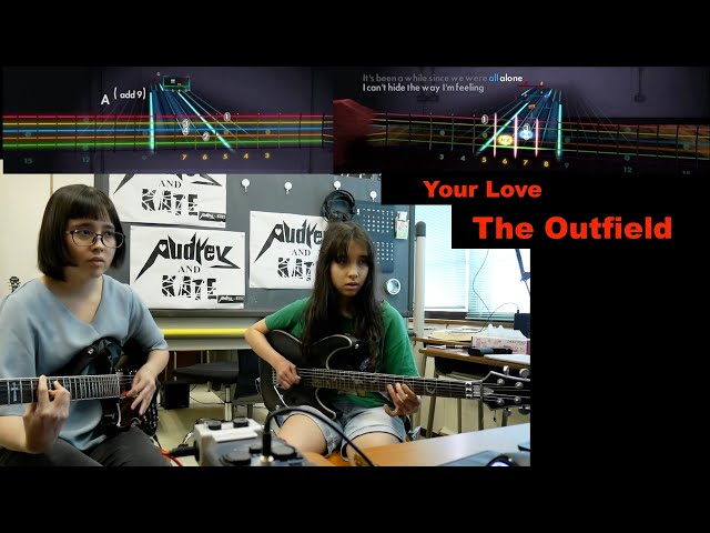 #Rocksmith - Your Love - The Outfield (guitar x2)