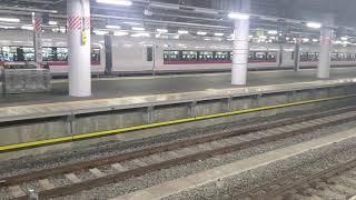 E261系RS2編成による、サフィール踊り子2号の発車シーンの動画in品川駅