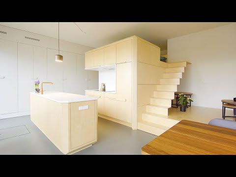 NEVER TOO SMALL ep 32 45sqm/484sqft Small Apartment Loft Bui