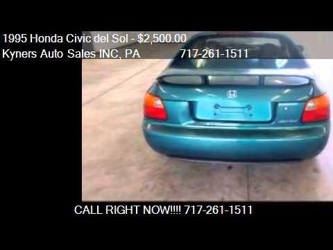 1995 Honda Civic del Sol Si for sale in Chambersburg, PA 172