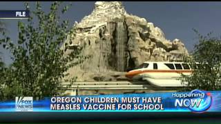 Oregon: Children must have measles vaccine to attended school