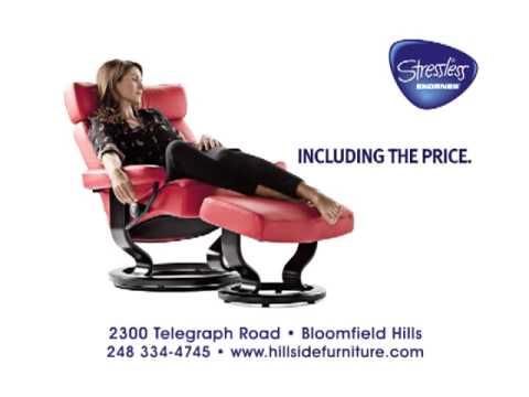 Hillside Furniture - Free Swing Table w/ Stressless Purchase