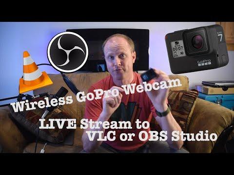 Wirelessly Stream GoPro Hero 7/8/9 to OBS Studio, VLC, Computers, etc.