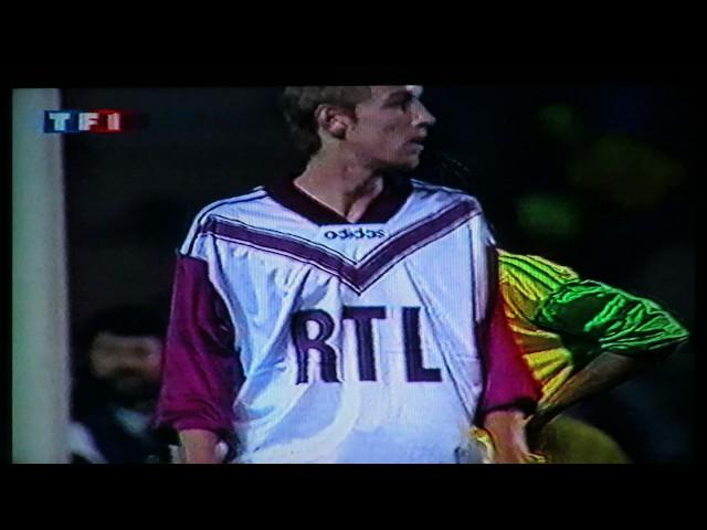 Nantes Bordeaux 1-0 - 1/8e finale de coupe de France 1994 - 18 mars 1994