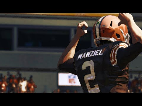 Madden 16 e3 gameplay browns vs steelers cleveland browns
