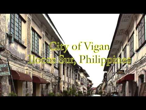 """Vote for Vigan City, Philippines for the """"New 7 Wonders Cities"""" of the World"""