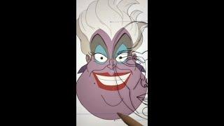 "Soo.. I tried the ""perfect"" face on Ursula lol and i do admit i am surprised🙃| JULIAGISELLA #shorts"