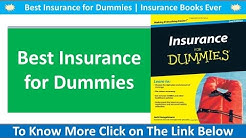 Best Insurance for Dummies | Insurance Books Ever