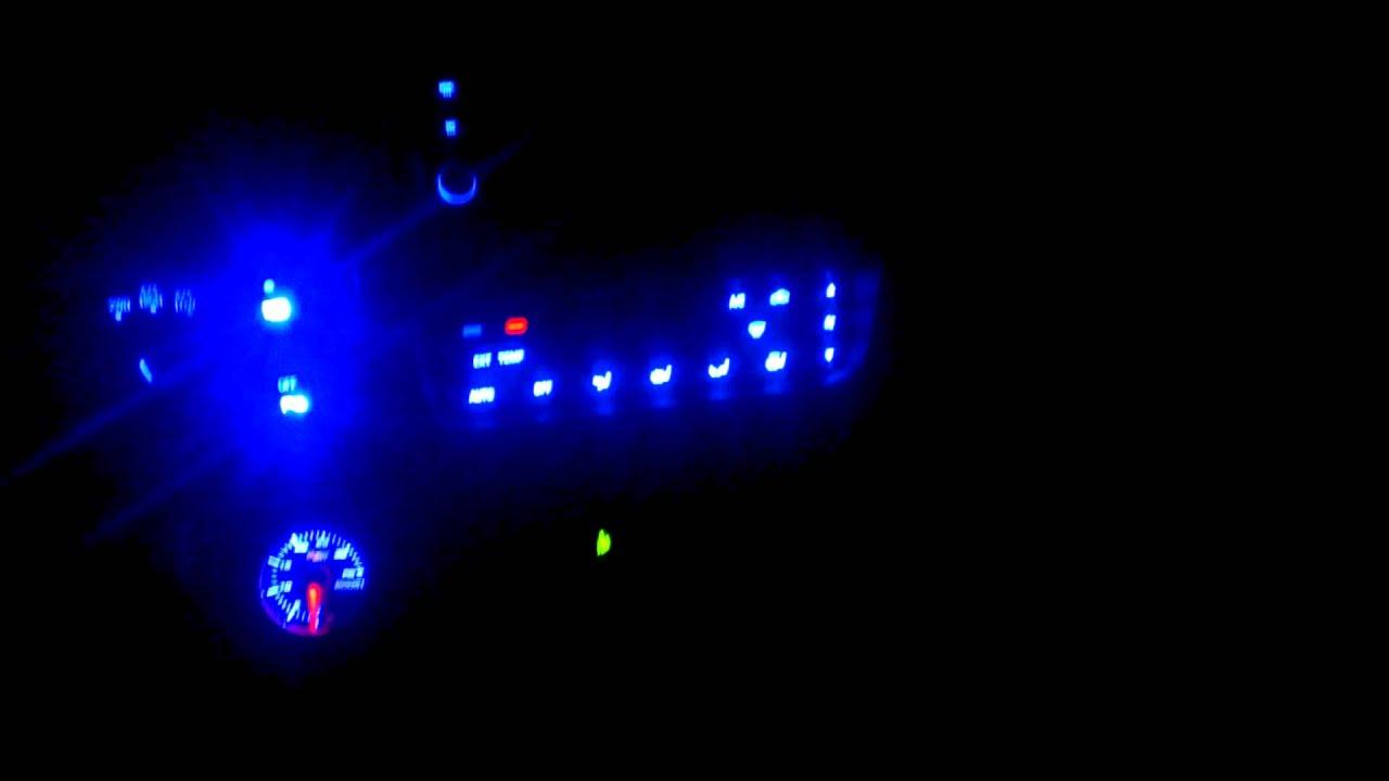 Ford Excursion Custom Blue Interior Lighting