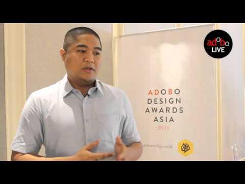 Jowee Alviar Creative Director of Team Manila on the adobo Design Awards Asia 2016