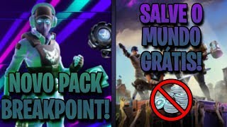 SAVE THE FREE WORLD AND NEW BREAKPOINT-FORTNITE PACKAGE