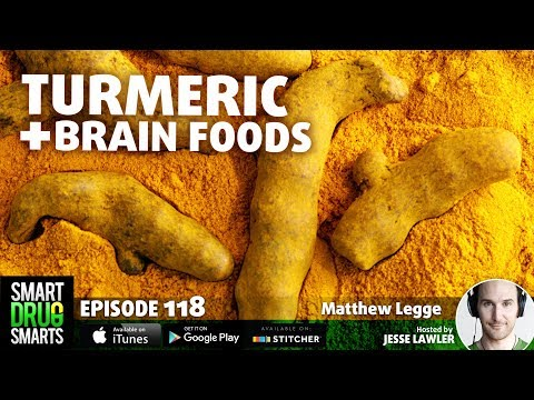 Episode 118 - Turmeric: Spice for your Brain