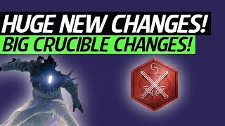 Destiny 2 News - Huge Changes! Crimson Days Update, Movement Speed, Weapon Balancing, Buffs & More!