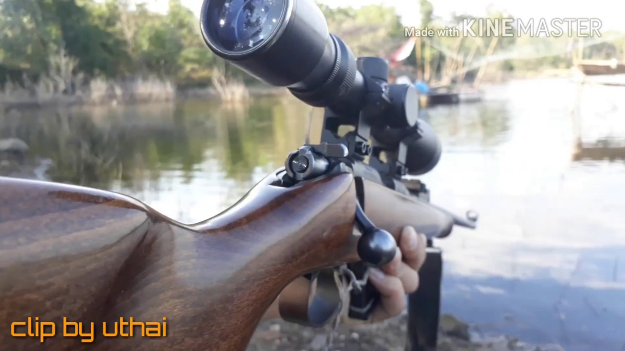 CZ 452 .22 lr ปืนยาวลูกกรดบรรจุ10นัด แม่นมาก