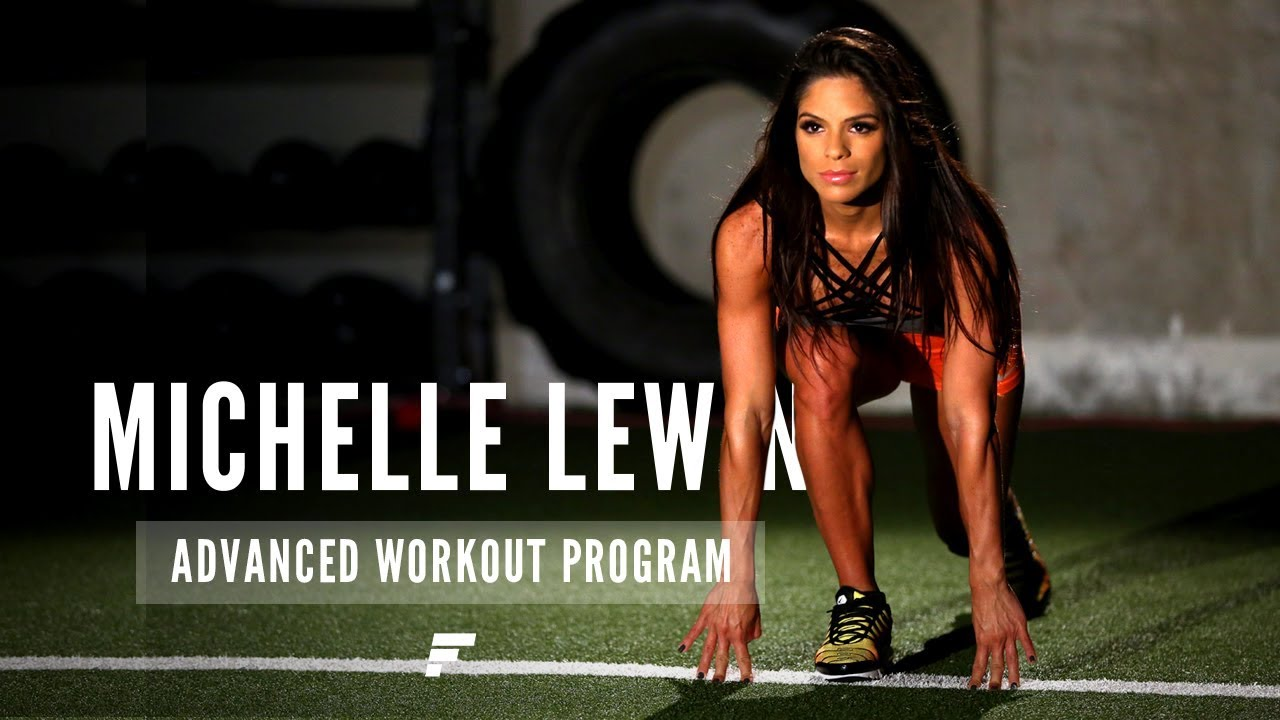 Michelle Lewin Advanced Workout Plan | Fitplan App - YouTube
