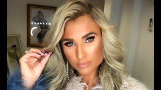 Billie Faiers reveals how to apply false eyelashes