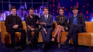 On The Jonathan Ross Show, Saturday at 9:50pm with Nicole Scherzinger and Shawn Mendes.