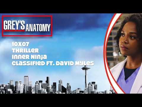 """Grey's Anatomy Soundtrack - """"Inner Ninja"""" by Classified ft  David Myles (10x07)"""