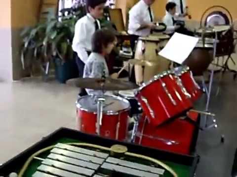 Pedro Alvadia com 10 anos - Banda Municipal de Valpaços