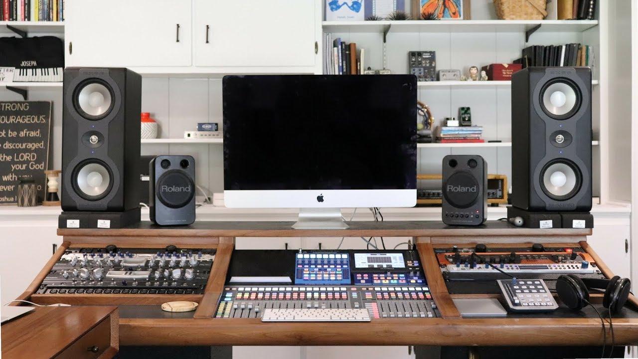 Home Studio Tour 2018 - YouTube