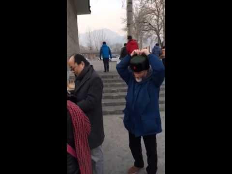 Harvard Deans In Outdoor Market in China