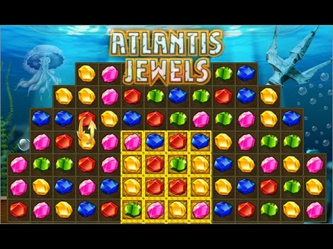Atlantis Jewels - FREE GAME  & WALKTHROUGH