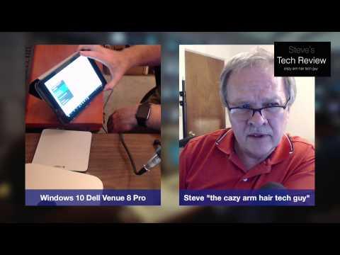 Windows 10 on the Dell Venue 8 Pro Upgrade experience
