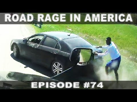 ROAD RAGE IN AMERICA #74 / BAD DRIVERS USA, CANADA / NORTH AMERICAN DRIVING FAILS