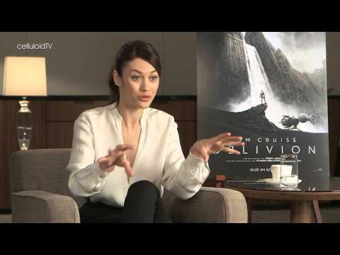 OLGA KURYLENKO on OBLIVION and TO THE WONDER in Vienna, April 2, 2013
