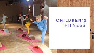 Детский фитнес с Сибирским Бордом
