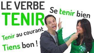 Le Verbe Tenir En Francais Francais Avec Pierre