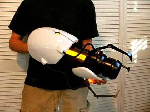 Portal Gun Test Fire Youtube