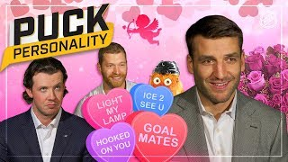 NHL stars attempt to give Valentine's Day advice